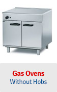 Gas Ovens - Without Hobs