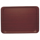 CA3343E73 Mahogany Capri Smooth Laminate Tray 330 x 430mm