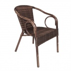 CB061 Wicker Armchairs (Pack of 4)