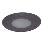 Arborescence Round Plate Grey 280mm