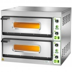 FES 6+6 Twin Deck Electric Pizza Oven - 3 Phase