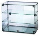 GC36D Glass Display Case With Rear Sliding Doors