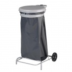 CE009 Collecroule Grey Mobile Sack Trolley