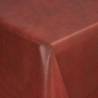 E681 Red Marble Tablecloth