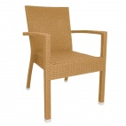 DL478 Wicker Armchair Natural (Pack of 4)