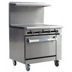 IR-3HT/N Restaurant Series Solid Top Natural Gas Oven