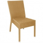 CF158 Wicker Side Chair Natural (Pack of 4)