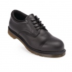 Unisex Classic Black Icon Safety Shoe 36