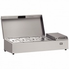 TW9-S3 Refrigerated Preparation Well 4 Gastronorm