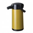 Furento 2.2 Ltr Airpot with Pump Action Metalic Yellow