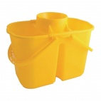 CD503 Colour Coded Twin Mop Buckets
