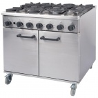 Titan RG90/N (444449438) 6 Burner Natural Gas Oven Range