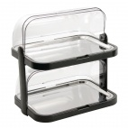 CB794 Double Decker Roll Top Cool Display Trays