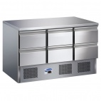 Refrigerated Prep Counters With Drawers