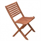 Wooden Folding Side Chair (Pack of 2)