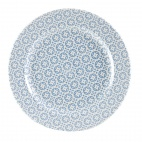 Churchill Moresque Prints Plate Blue 305mm