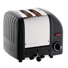 2 Slice Vario Bread Toaster Black