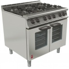 Dominator Plus G3106/N 6 Burner Open Top Fan-assisted Natural Gas Oven Range