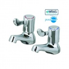 CaterTap WRCT-500BL3 1/2 Inch Basin Taps With 3 Inch Levers