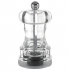 CE318 Acrylic Salt and Pepper Mill 102mm