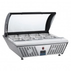 GL178 Refrigerated Prep Counter With Chopping Board