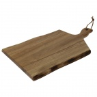 Acacia Wavy Handled wooden Board Small