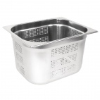 GM319 Stainless Steel Perforated 1/2 Gastronorm Pan 200mm