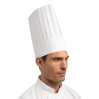 A250 Disposable Chefs Hat - White