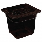 U469 Polycarbonate Gastronorm Container - 1/6 One Sixth Size