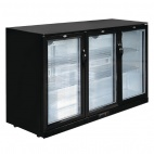 GL014 320 Ltr Reduced Height Triple Hinged Door Bottle Cooler