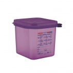 Silicone Gastronorm 2.6L Food Container