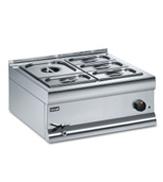 Bain Maries - Wet Heat - Gastronorm Pots