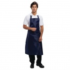 A896 Waterproof Bib Apron - Blue