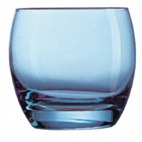 DJ396 Salto Ice Blue Tumblers 320ml