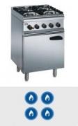 4 Burner Gas Ovens
