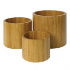 Bamboo Risers Set of 3