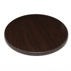 Round Table Top Dark Brown 800mm