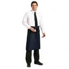 A416 Regular Bistro Apron - Navy Blue