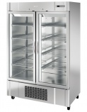 AN49CR 1350 Ltr Glass Double Door Display Fridge