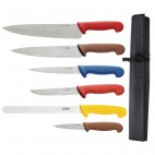 S088 Colour Coded Chefs Knife Set