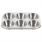 E714 6 Cup Deep Muffin Tray