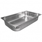 K841 Stainless Steel Perforated 1/1 Gastronorm Pan 100mm