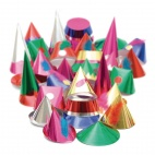 GE917 Starshine Adult Party Hats - Pack Quantity 144