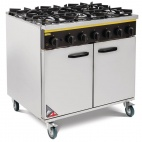 CE371-N 6 Burner Natural Gas Oven Range