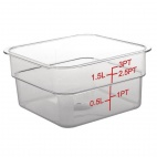 CF020 Polycarbonate Square Storage Container