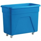 DN598 160 Ltr Blue Polyethylene Trolley
