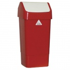 CC079 Red Swing Bin