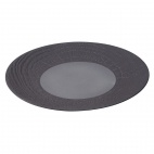 Arborescence Round Plate Grey 310mm