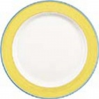 Rio Yellow Service Chop Plate