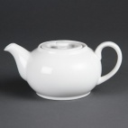 CB473 Whiteware Teapot
